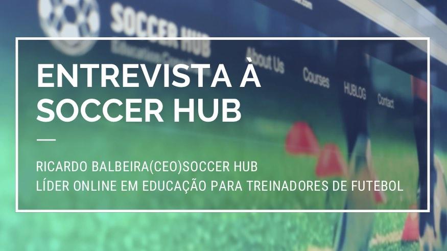 Soccer Hub Lider Online em Educação para Treinadores de Futebol