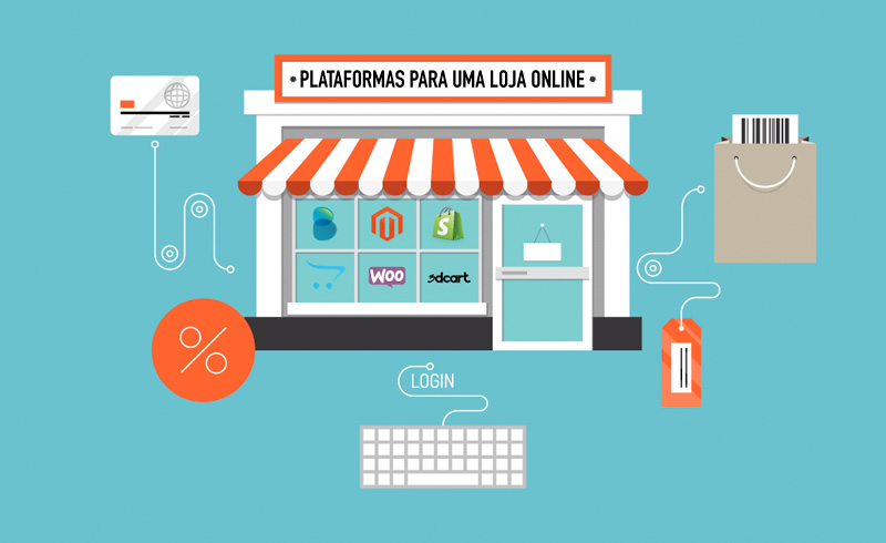 Plataforma para criar loja online