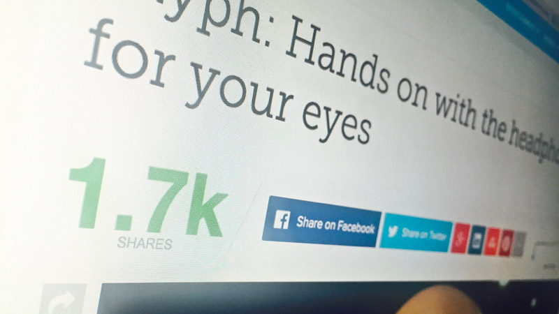 Social Proof Partilha nas Redes Sociais